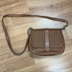 Banana Republic Genuine Leather Crossbody Handbag